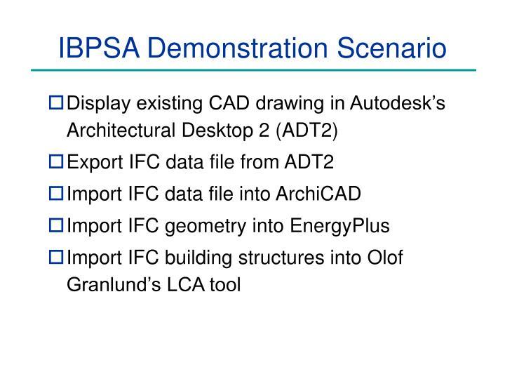 Ibpsa demonstration scenario