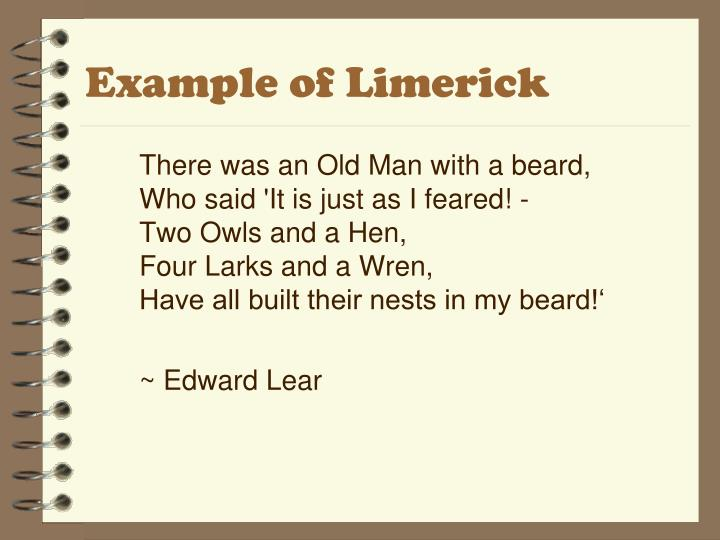 Example of Limerick