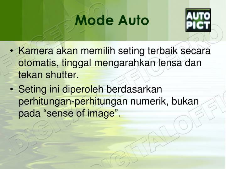 Mode Auto