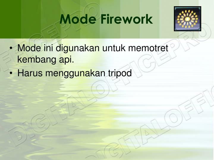 Mode Firework