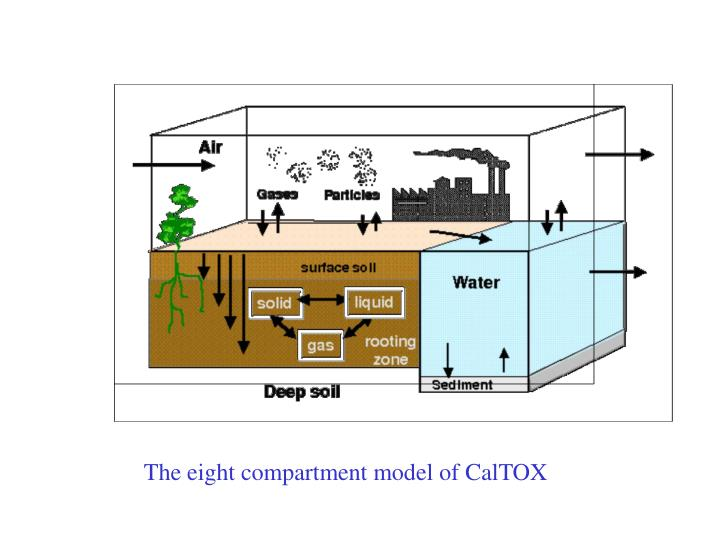The eight compartment model of CalTOX