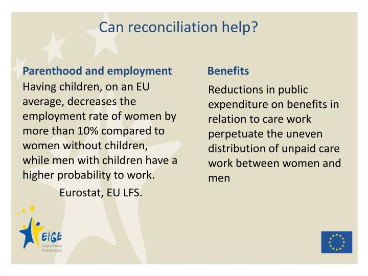 Parenthood and employment