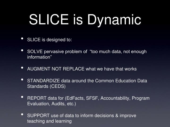 SLICE is Dynamic
