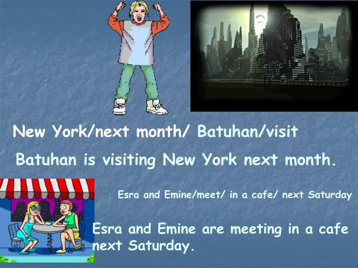 New York/next month/