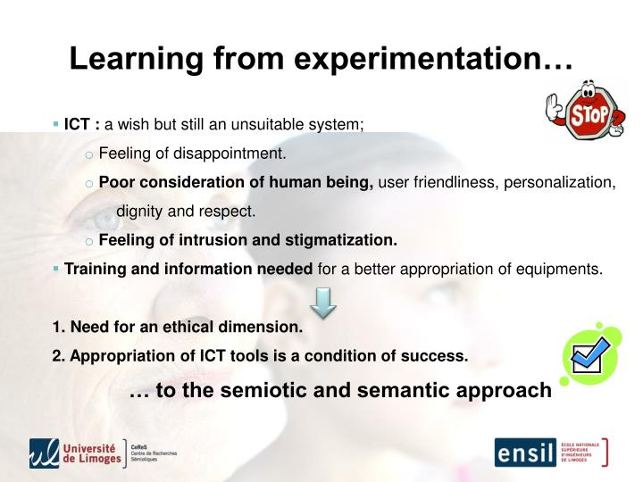 Learning from experimentation…