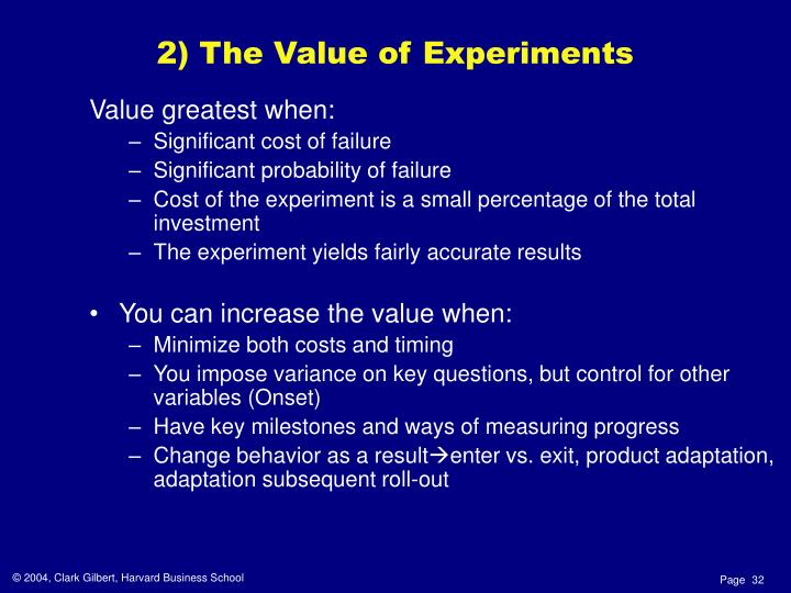 Value greatest when: