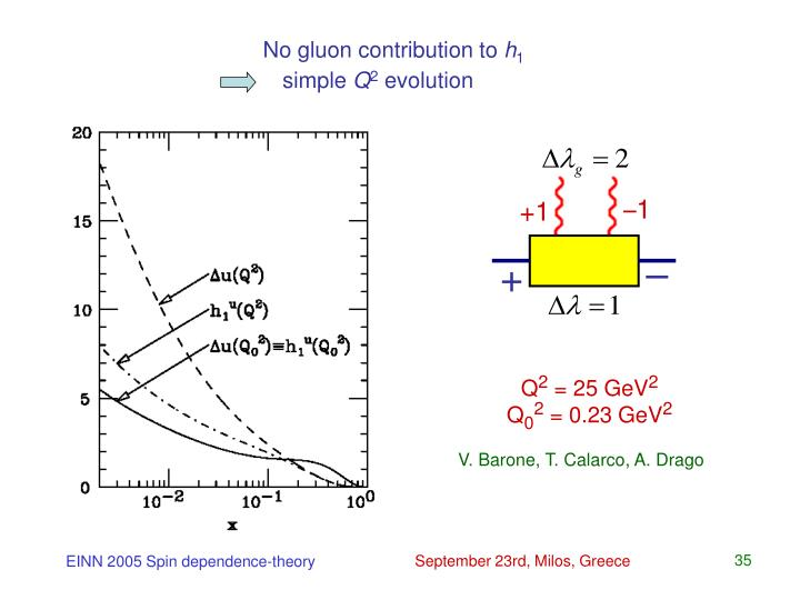No gluon contribution to