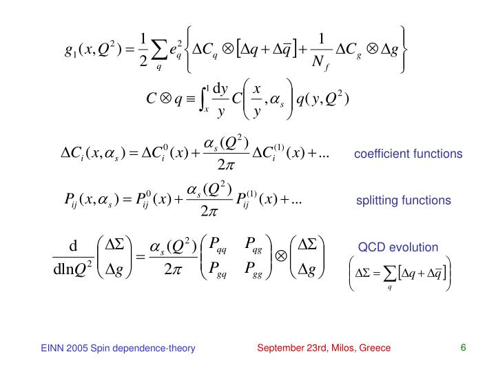 coefficient functions