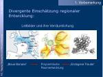 divergente einsch tzung regionaler entwicklung