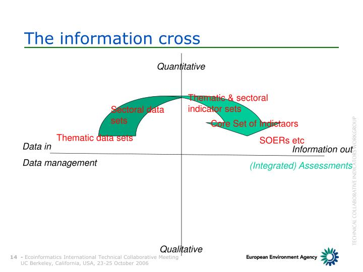 The information cross