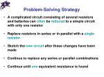 problem solving strategy2