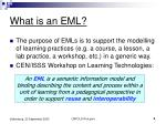 what is an eml