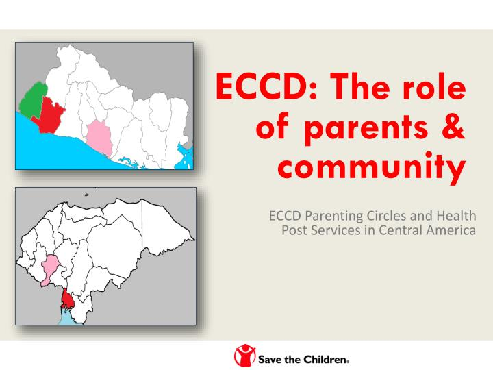 Eccd the role of parents community