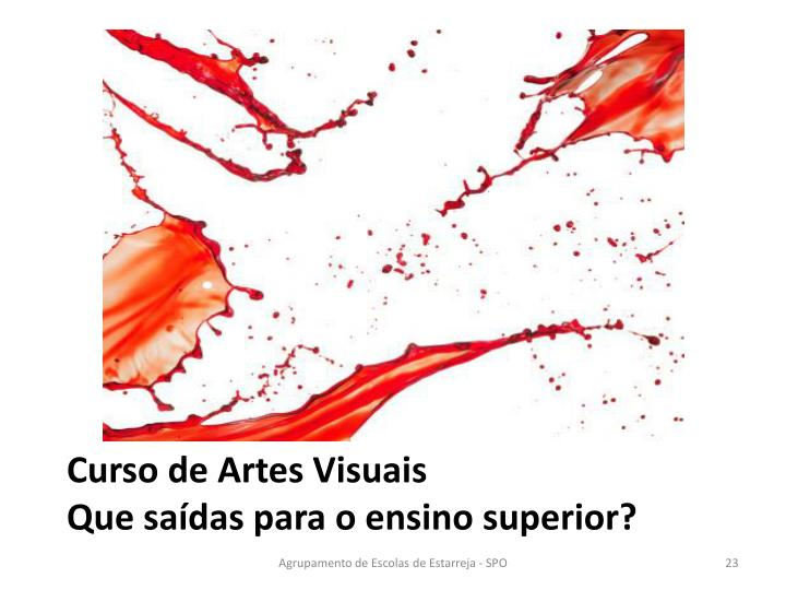 Curso de Artes Visuais