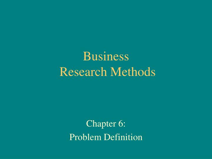 research method and methodology in finance