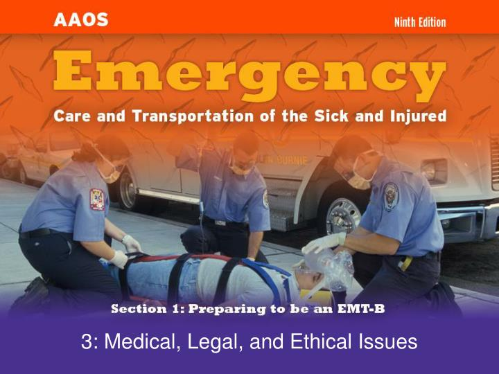 3 medical legal and ethical issues n.
