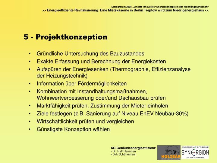 5 - Projektkonzeption
