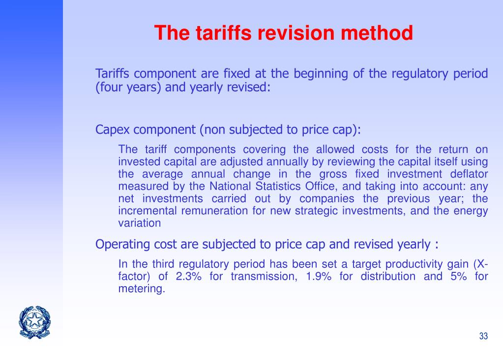 PPT - Electricity network tariff regulation The Italian experience