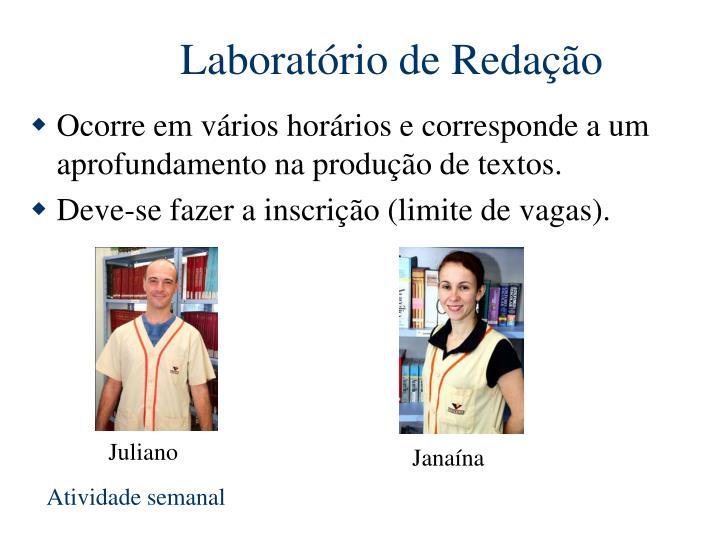 Laboratório de Redação