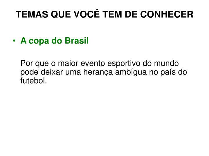 A copa do Brasil
