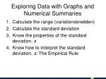 exploring data with graphs and numerical summaries1
