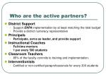 who are the active partners