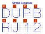 stroke sequence4