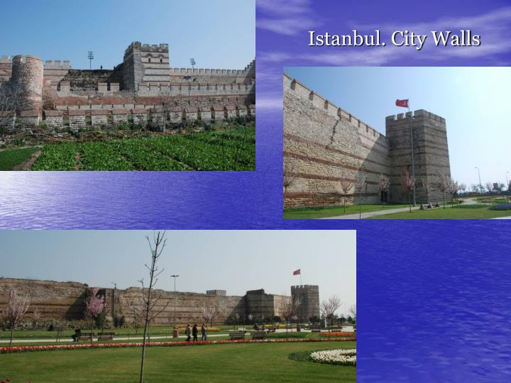 Istanbul. City Walls
