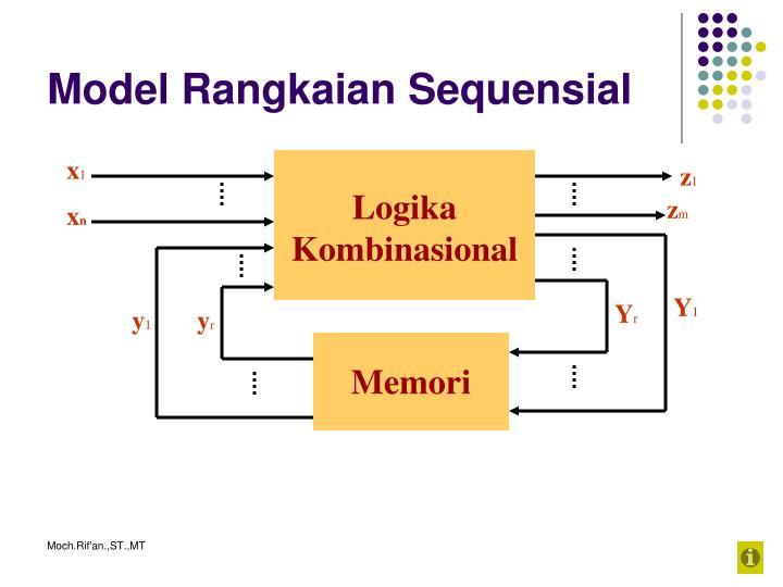 Model rangkaian sequensial