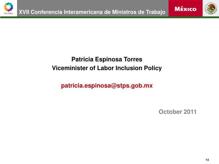 XVII Conferencia Interamericana de Ministros de Trabajo
