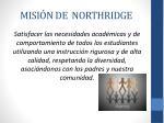 misi n de northridge