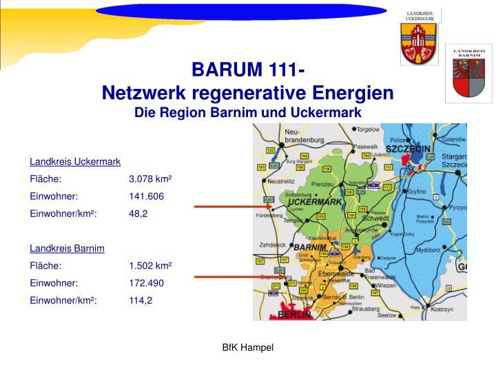 Barum 111 netzwerk regenerative energien die region barnim und uckermark