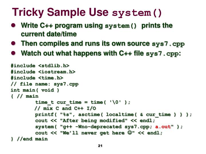 system programming chapter 2 Java software solutions, 4e lewis and loftus chapter 2 exercise solutions 21 explain the following programming statement in terms of objects and the services they provide systemoutprintln (i gotta be me.