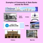 examples of community state banks around the world