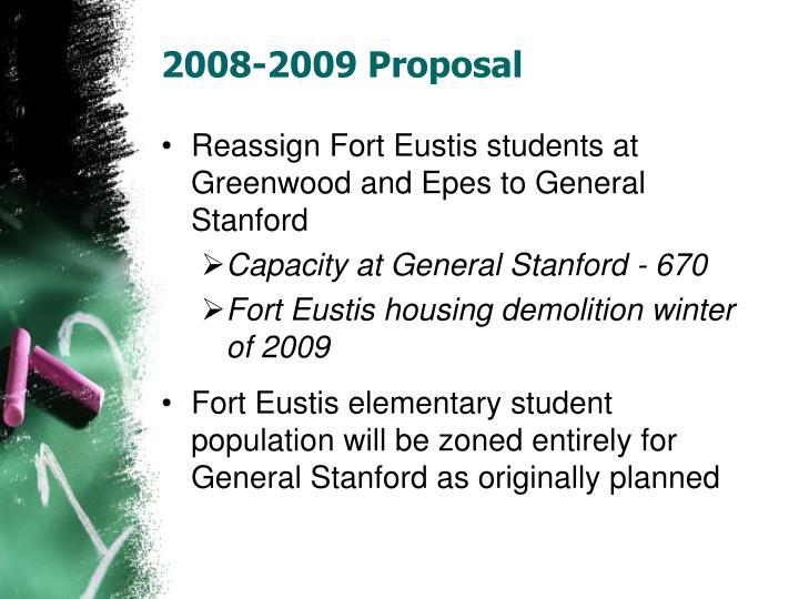 2008-2009 Proposal