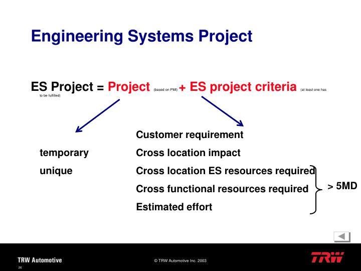 ES Project =