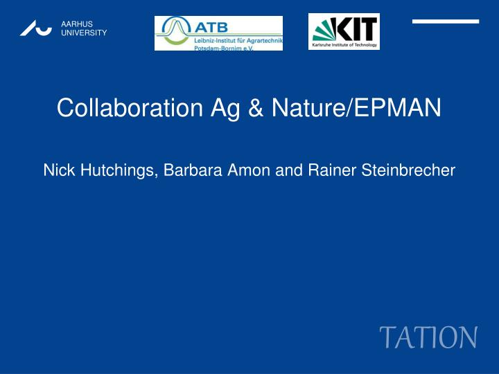 collaboration ag nature epman n.