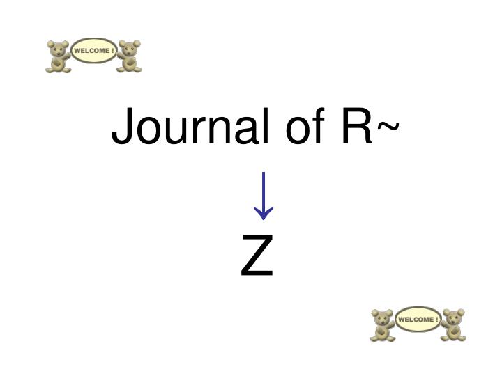 Journal of r z