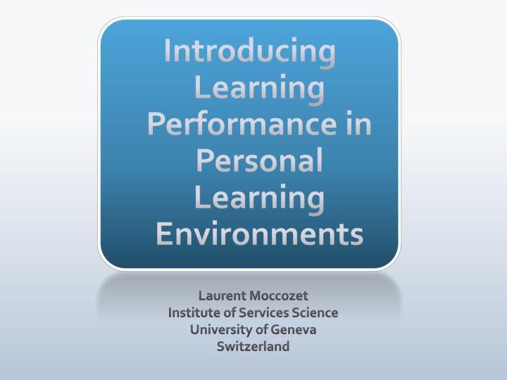 alternative learning system performance of learners Thesis alternative learning system free essays – studymodeessays – largest database of quality sample essays and research papers on thesis alternative learning systemteachers competence and learners performance in the teachers competence and learners performance in the alternative learning the alternative learning system teachers competence.