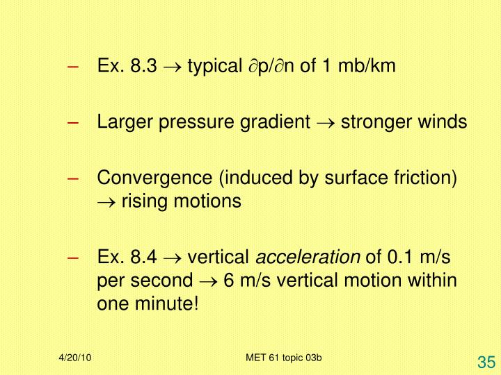 Ex. 8.3  typical p/n of 1 mb/km