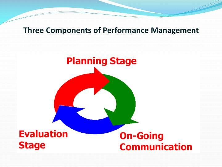 Three Components of Performance Management