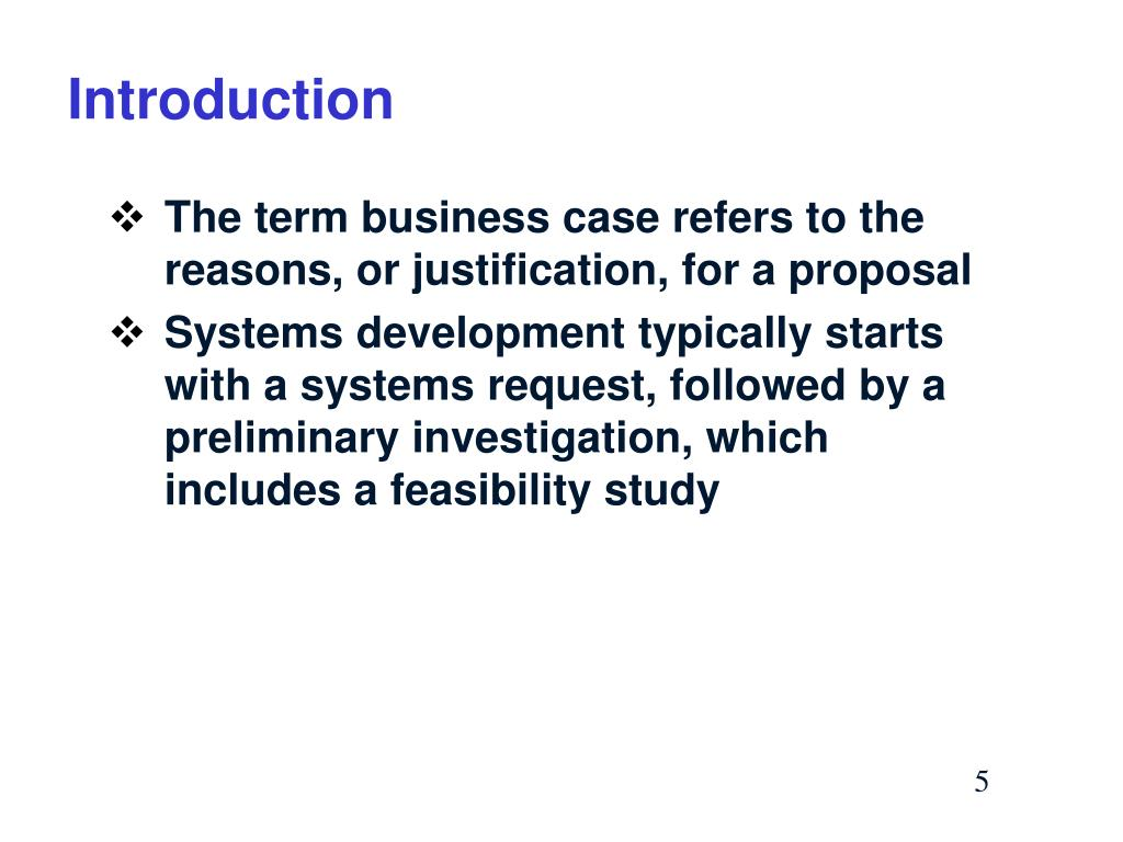 PPT - SDLC: Analysizng the Business Case in Systems Planning