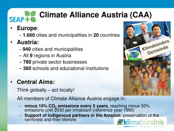 Climate Alliance Austria (CAA)