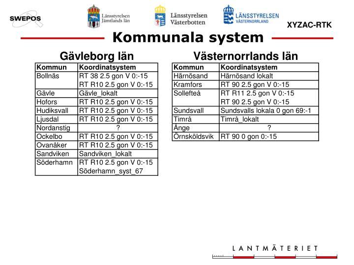 Kommunala system