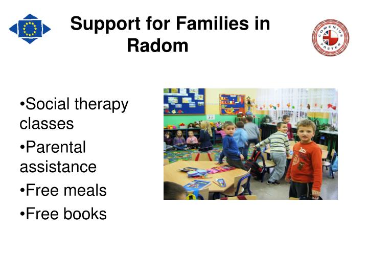 Support for Families in Radom