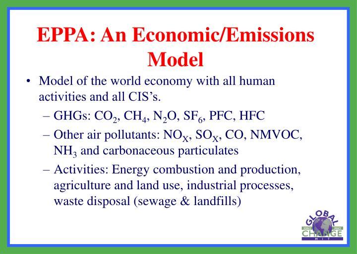 Eppa an economic emissions model