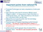 important points from national fs