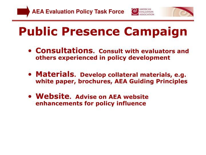 Public Presence Campaign