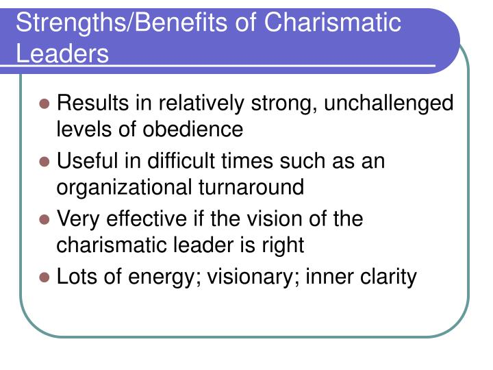 what is the charismatic leadership Learn about transformational leadership, charismatic leadership, bureaucratic leadership, transactional leadership, servant leadership and more.