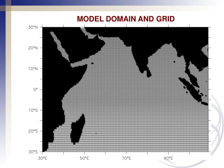 MODEL DOMAIN AND GRID